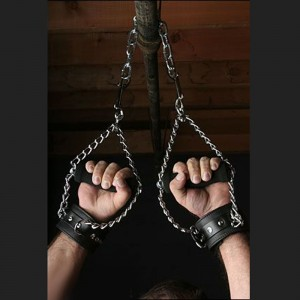bdsm bondage nubuck suspension