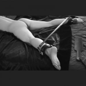 bondage esparcidor de barra ajustable del tobillo