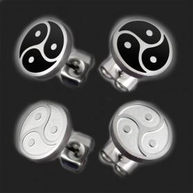 1 pair Stainless Steel Earrings