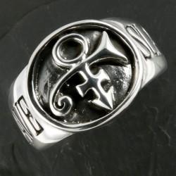 bijoux bdsm Prince-esclave bague chevalière en argent