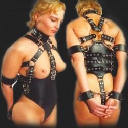bdsm Harnais complet de bondage pour Femme