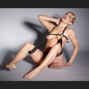 BDSM Cuir Torse Harnais