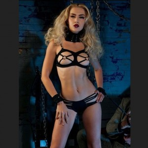 3 piece set bdsm underwear