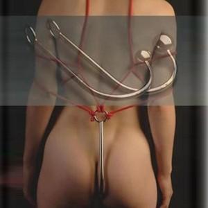 bdsm crochet de suspension anal unisex