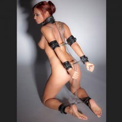 bdsm bondage leather kit