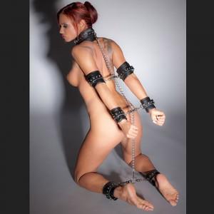 bdsm Kit d'esclavage en cuir