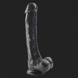 Gode noir 25x4.5 cm