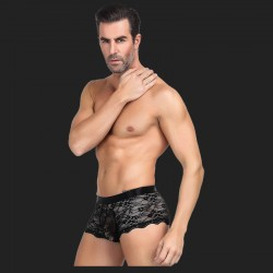 Lace Strappy Panty For Men