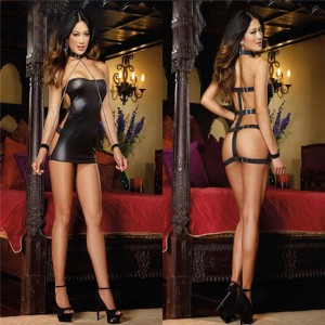 Sexy bondage dress
