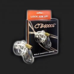 CB-6000S Cage de Chasteté pour homme