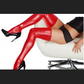 stockings faux leather