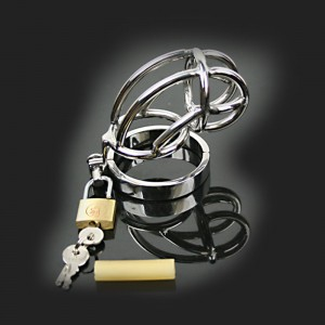 man steel chastity cage Stainless