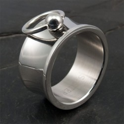 Story of O Ring Wide and concave